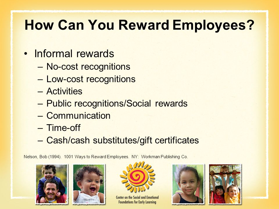 How Can You Reward Employees