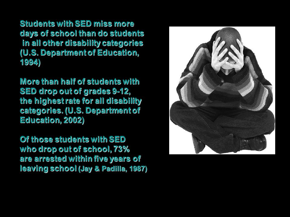 days of school than do students in all other disability categories