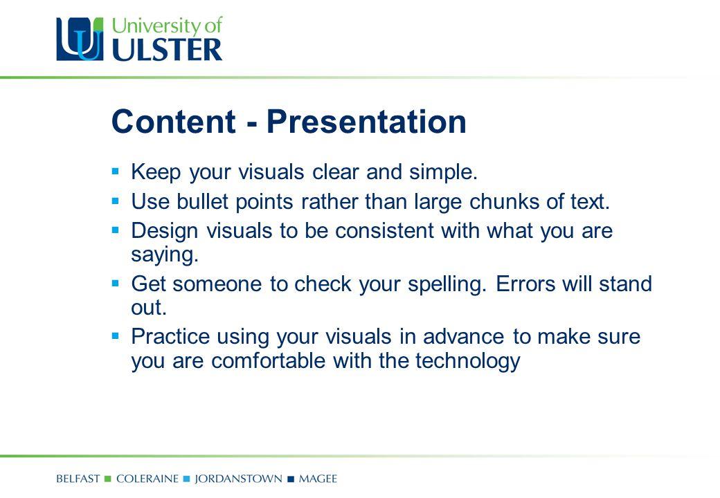 Content - Presentation