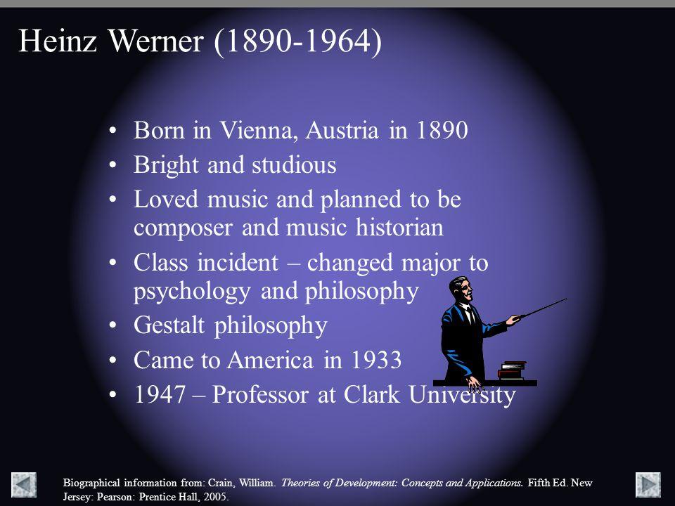 Heinz Werner (1890-1964) Born in Vienna, Austria in 1890