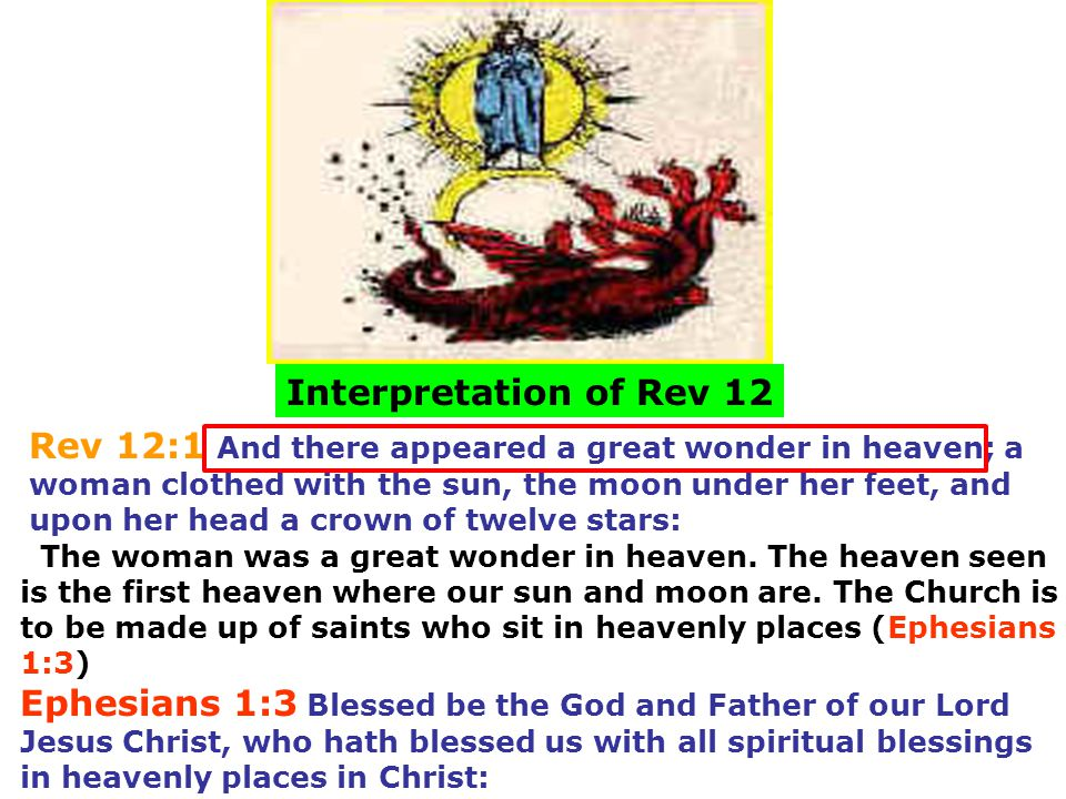 Interpretation of Rev 12