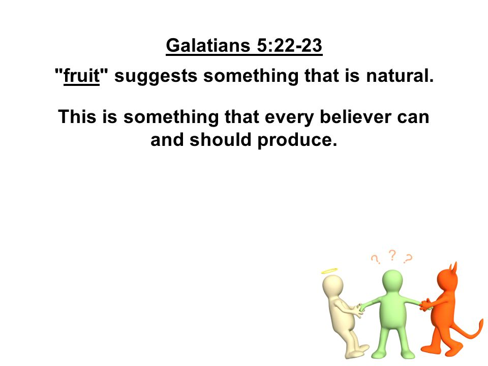 fruit suggests something that is natural.