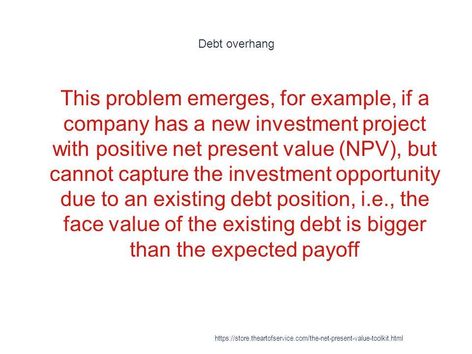 Debt overhang