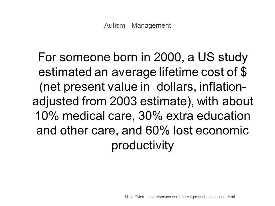 Autism - Management
