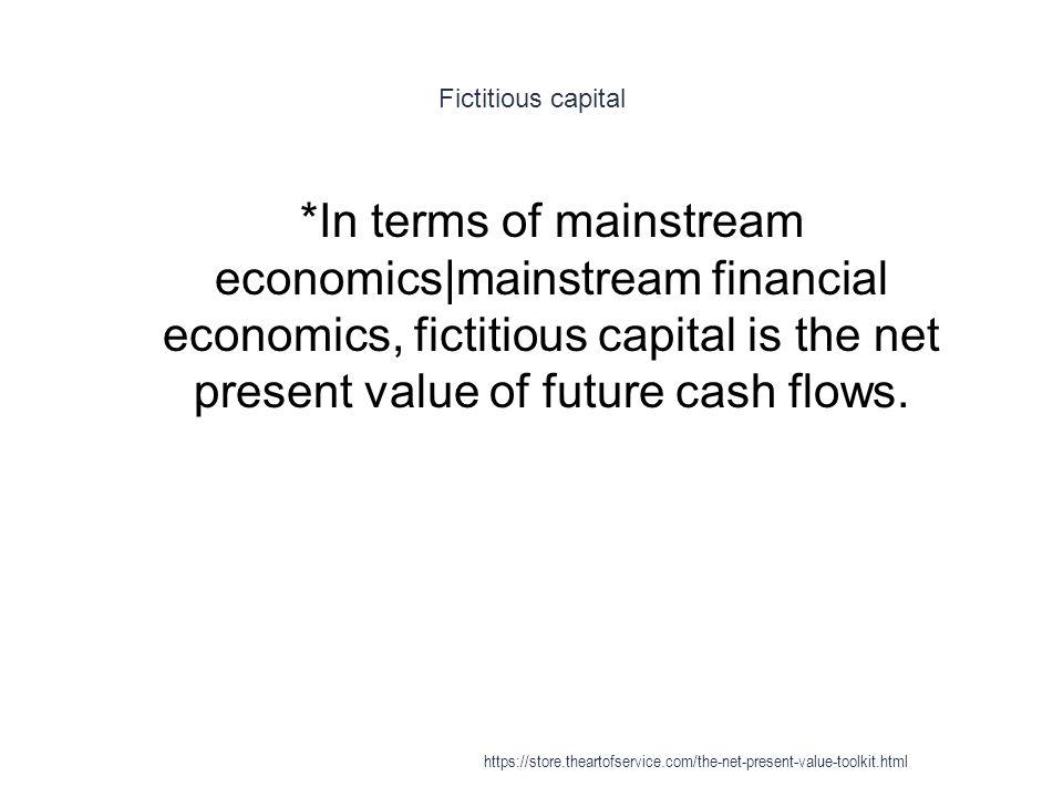 Fictitious capital