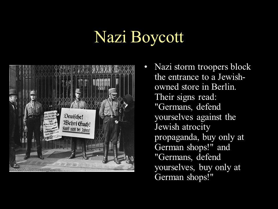 Nazi Boycott