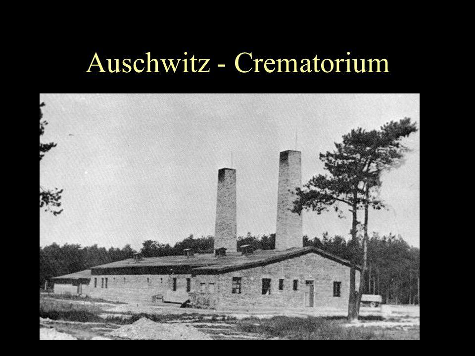 Auschwitz - Crematorium