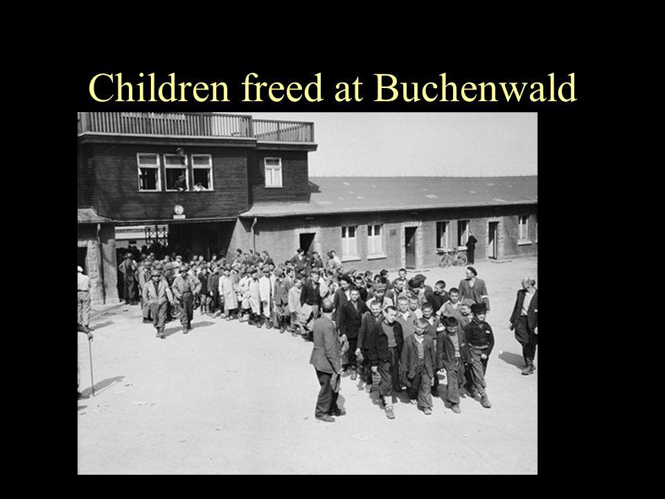 Children freed at Buchenwald