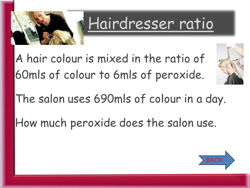 Hairdresser ratio