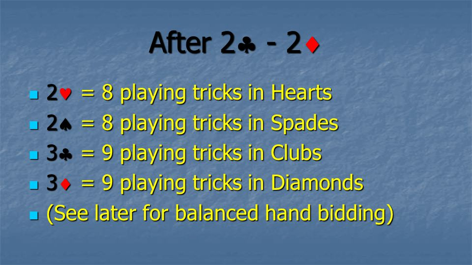 After 2 - 2 2 = 8 playing tricks in Hearts