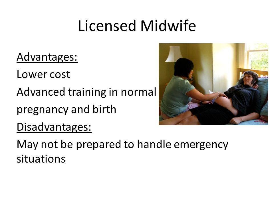 Licensed Midwife