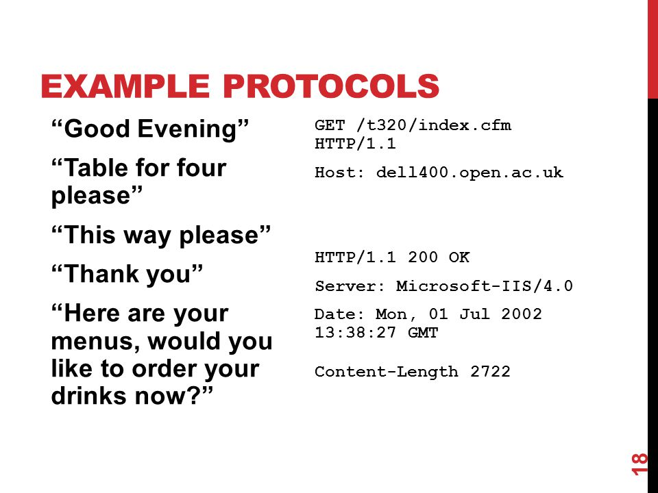 Example ProtocolS