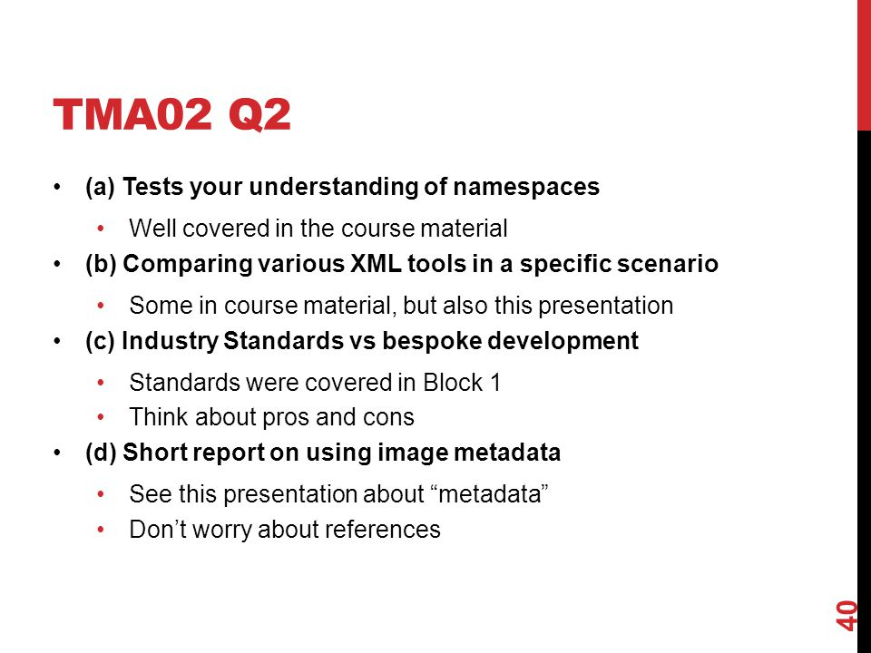TMA02 Q2 (a) Tests your understanding of namespaces