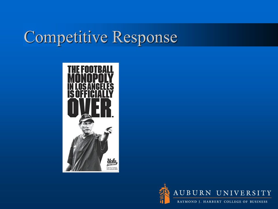 Competitive Response