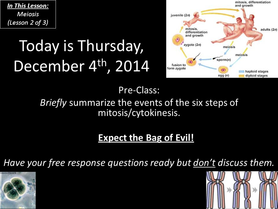 Today is Thursday, December 4th, 2014
