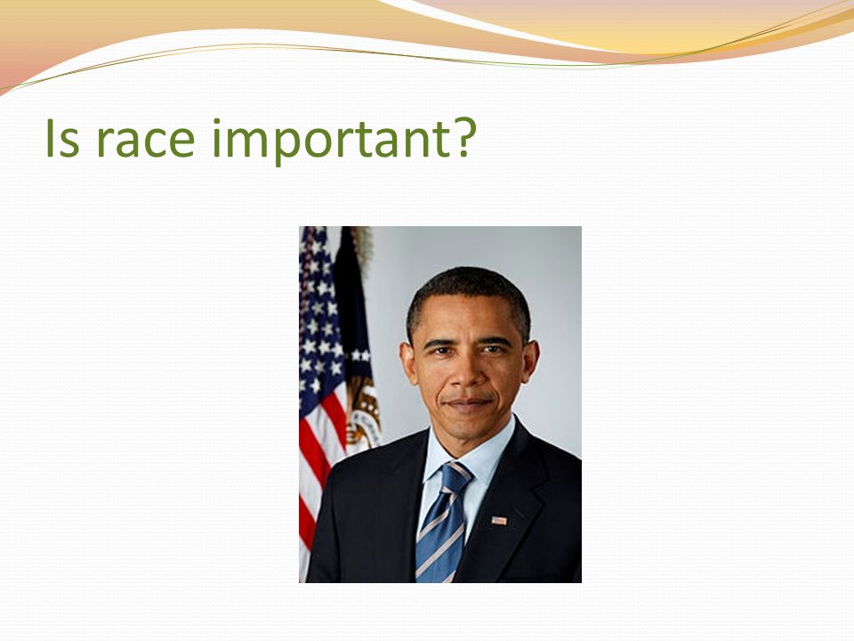 Is race important
