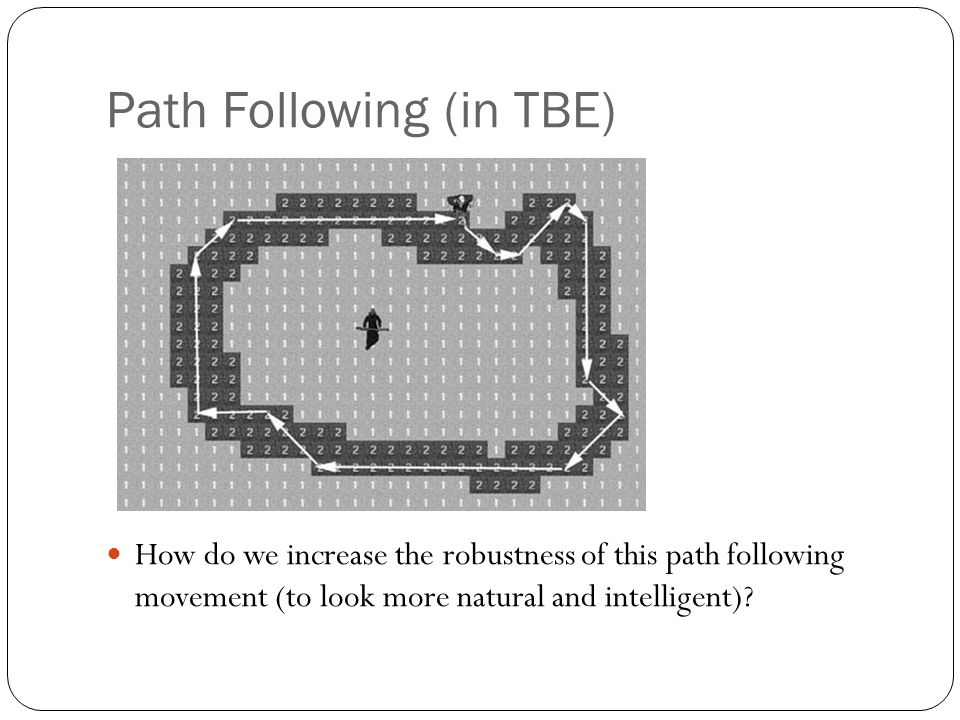 Path Following (in TBE)