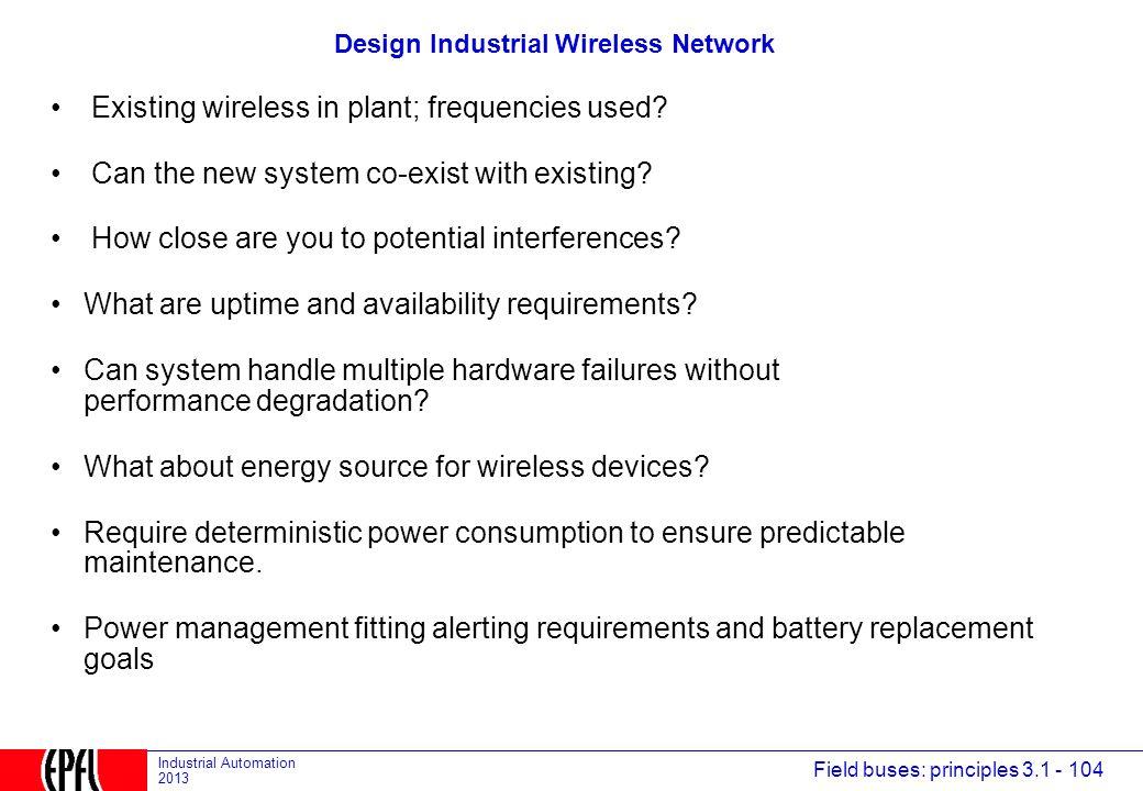 Design Industrial Wireless Network