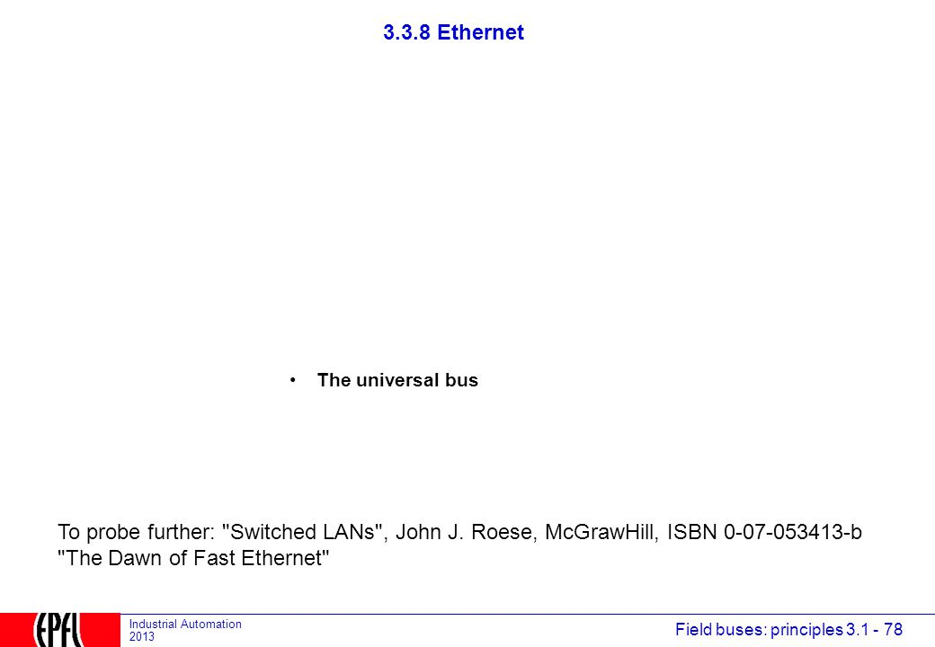 The Dawn of Fast Ethernet