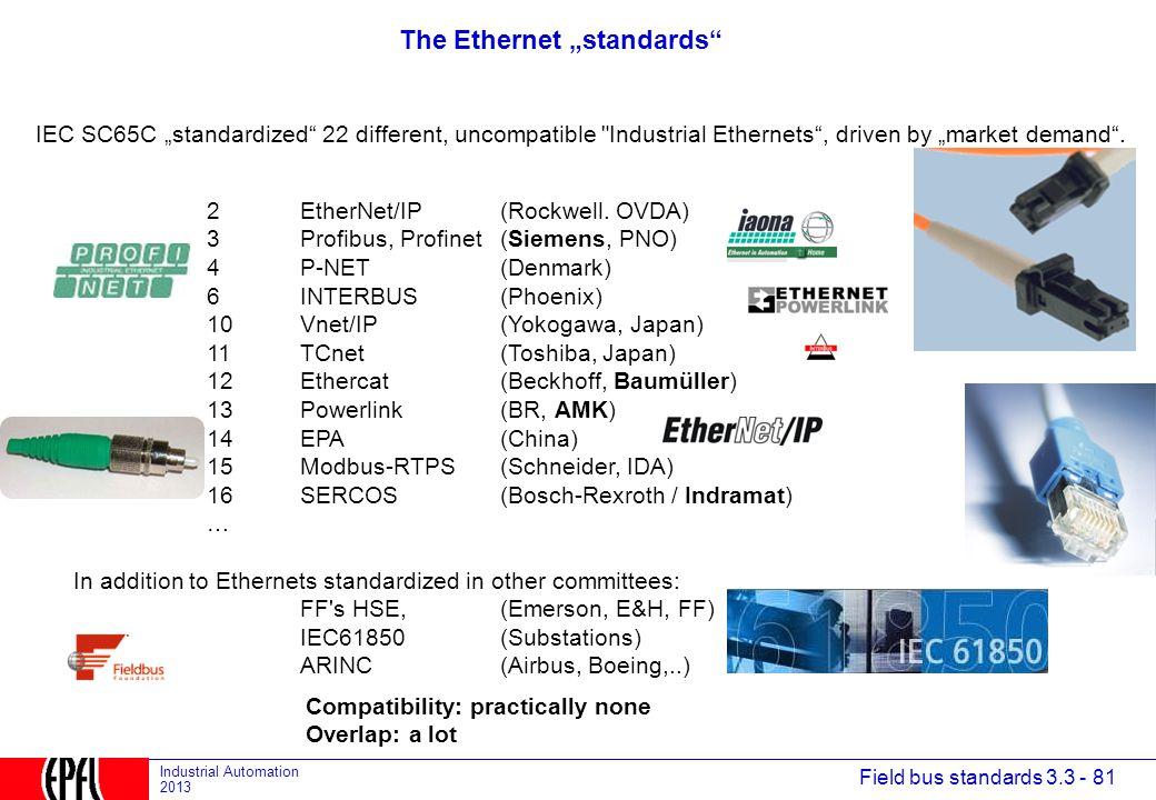 "The Ethernet ""standards"