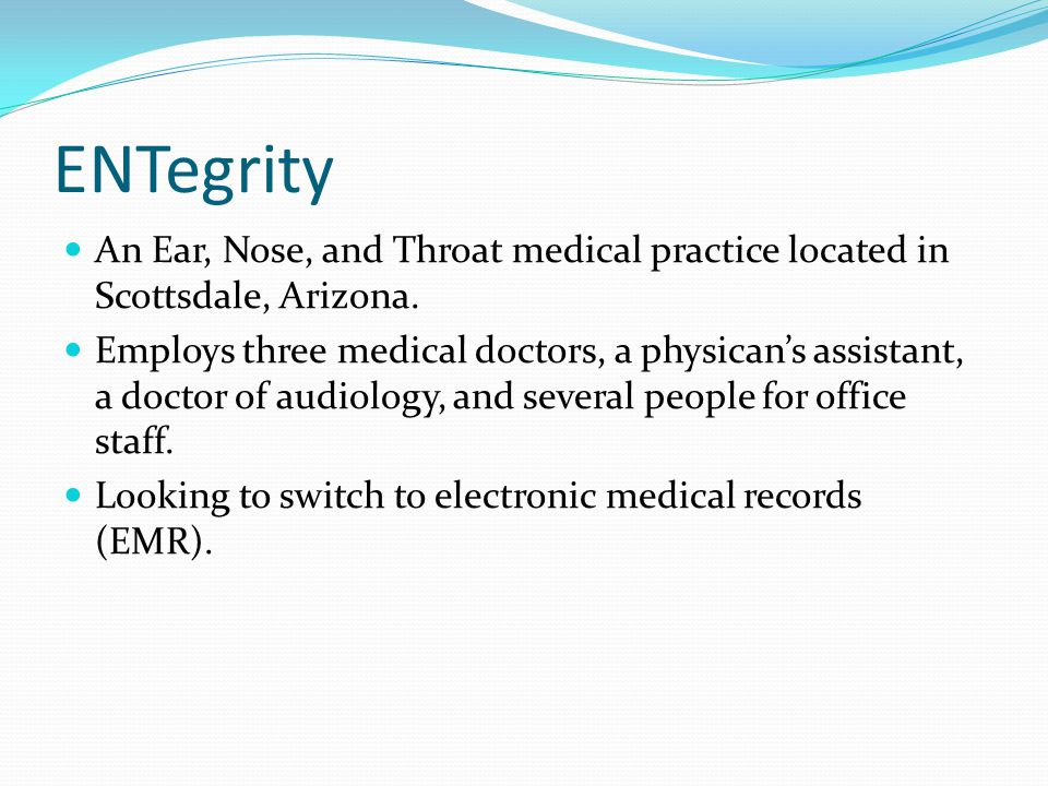 ENTegrity An Ear, Nose, and Throat medical practice located in Scottsdale, Arizona.