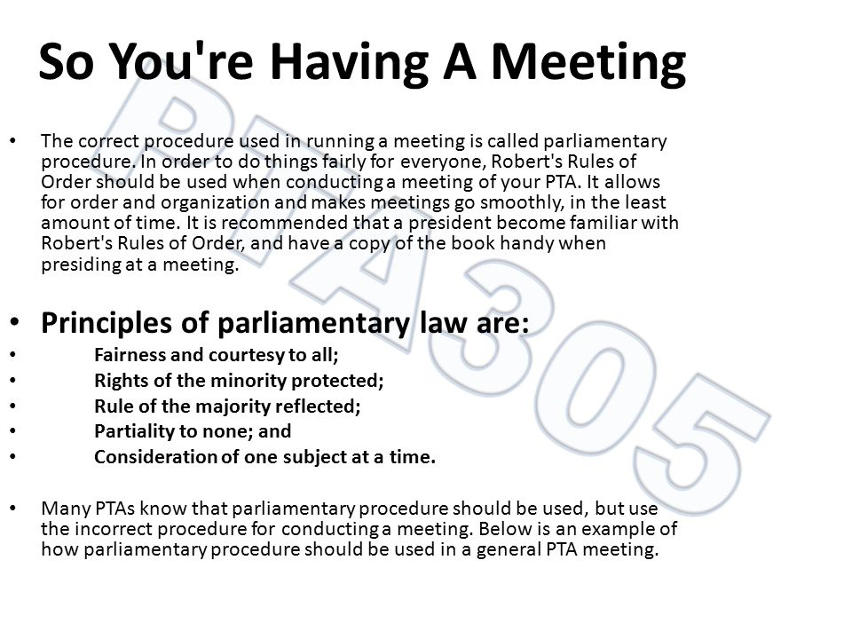 So You re Having A Meeting