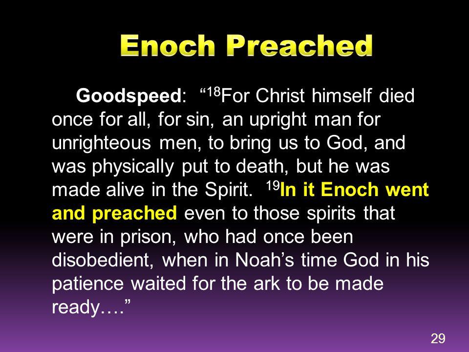 Enoch Preached