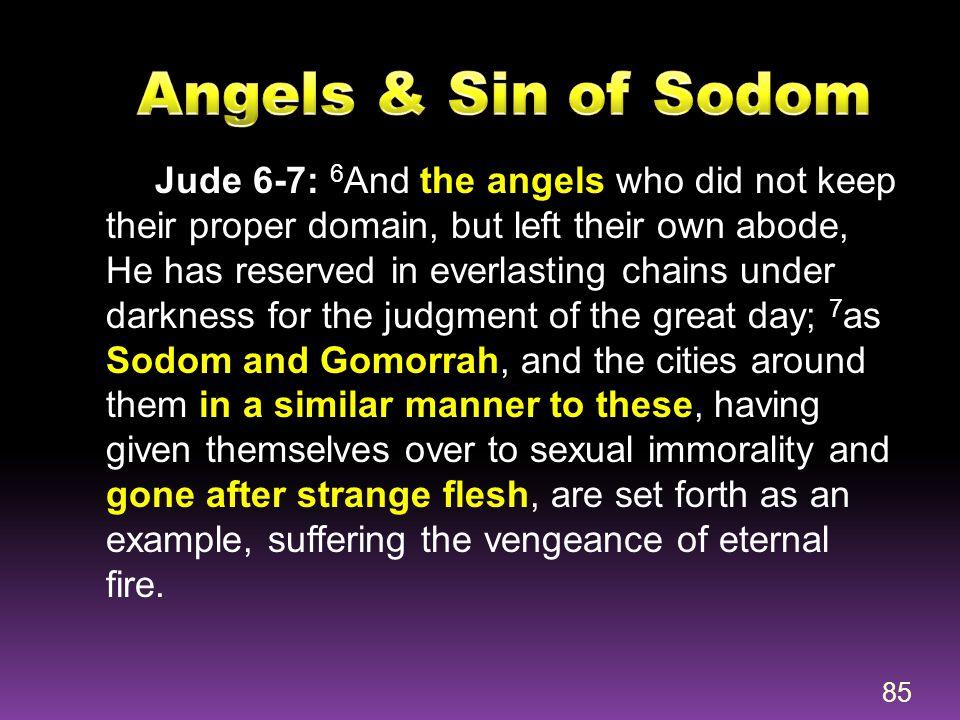 Angels & Sin of Sodom
