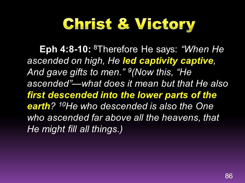 Christ & Victory