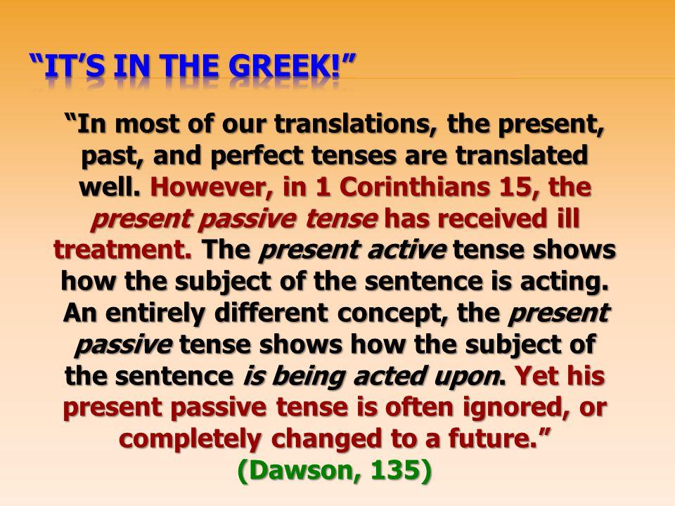 It's In the Greek!