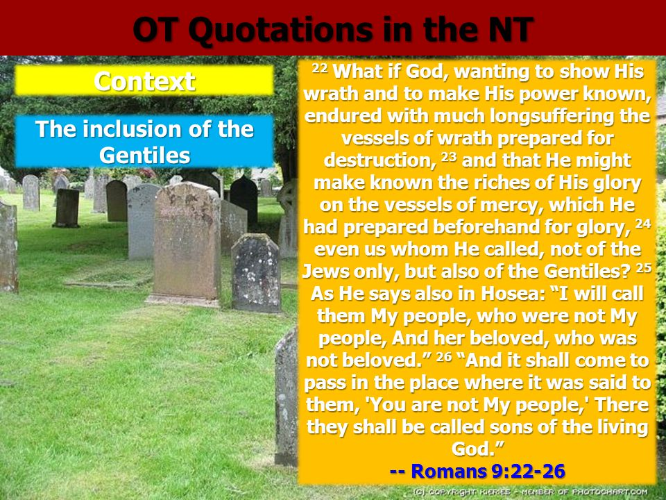 The inclusion of the Gentiles