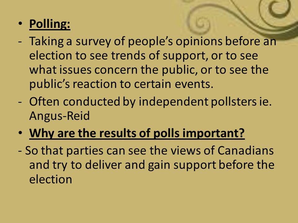 Polling: