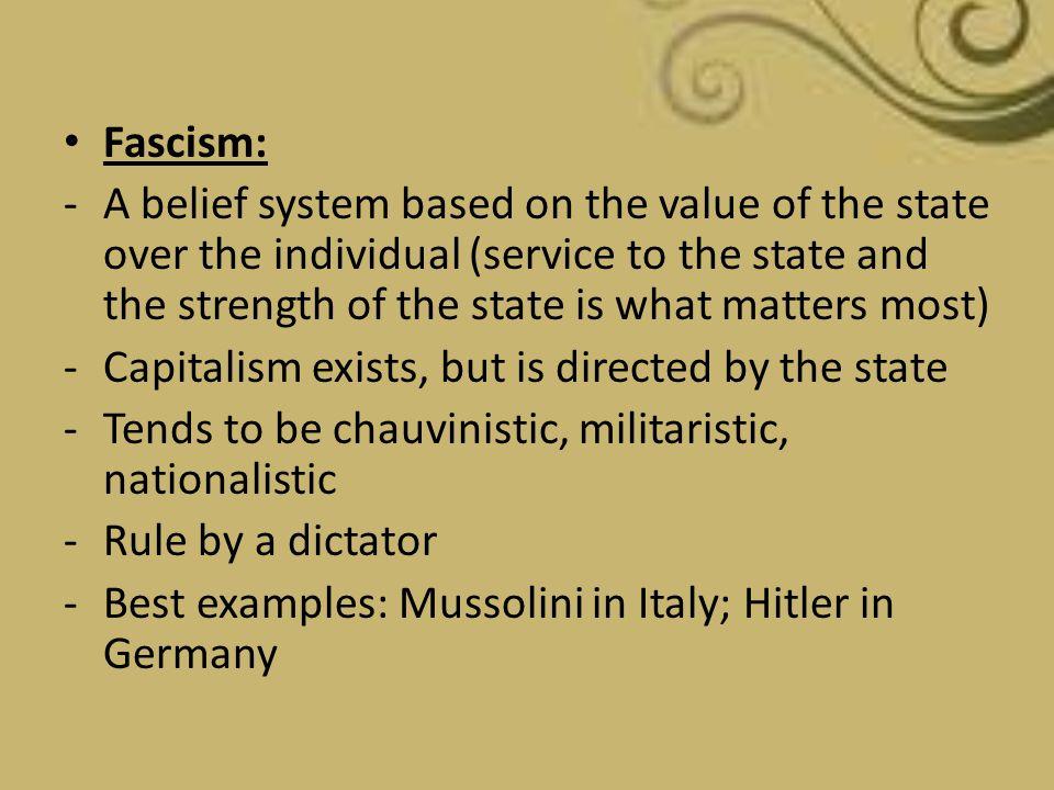 Fascism: