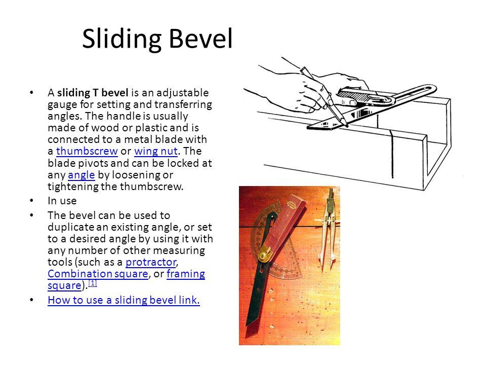 Sliding Bevel