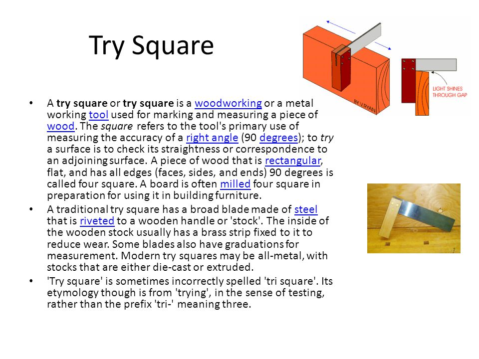 Diagram Of Try Square - Wiring Diagram