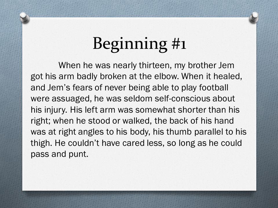 Beginning #1