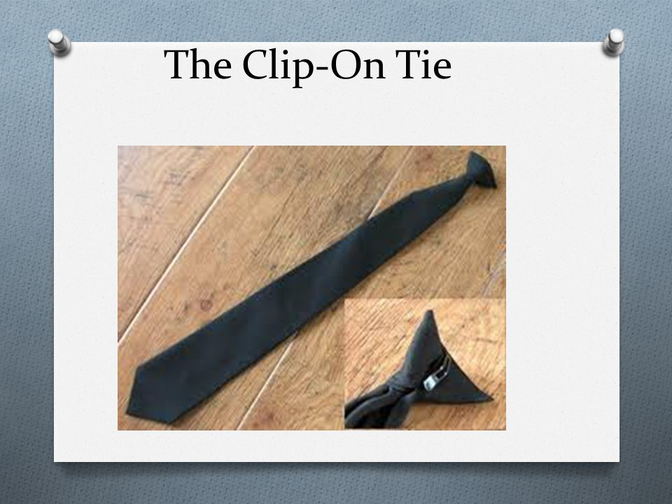 The Clip-On Tie