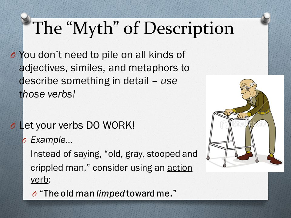 The Myth of Description