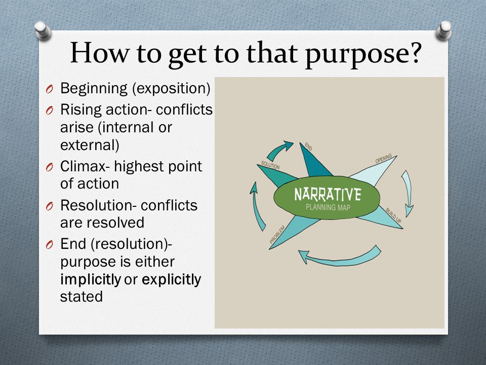 How to get to that purpose