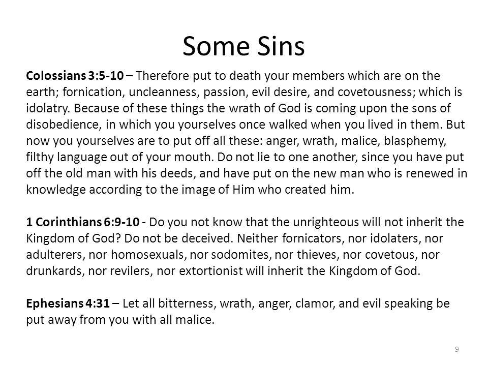 Some Sins