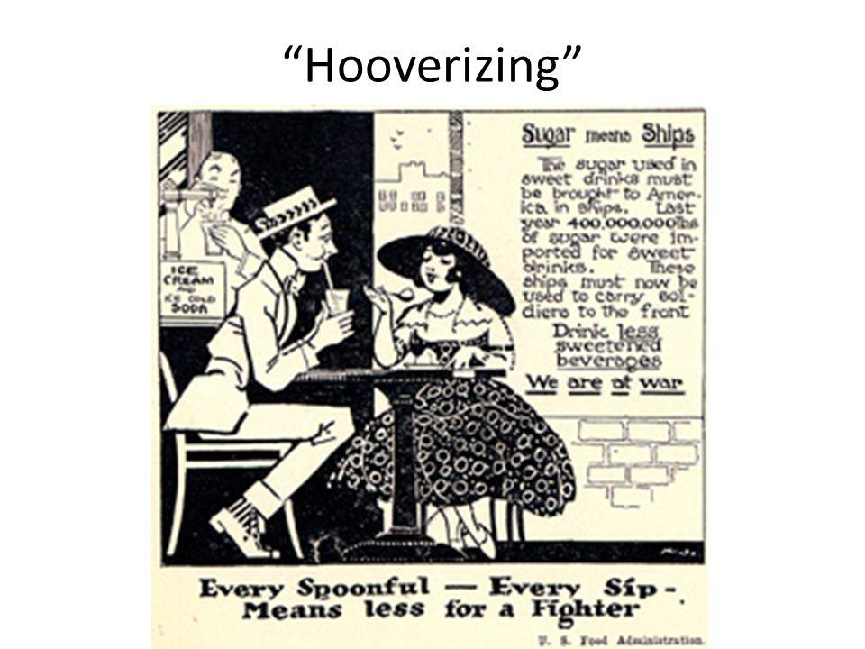 Hooverizing