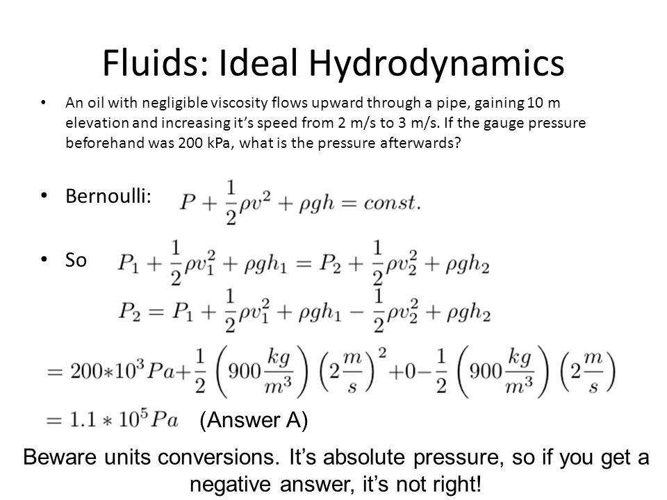 Fluids: Ideal Hydrodynamics