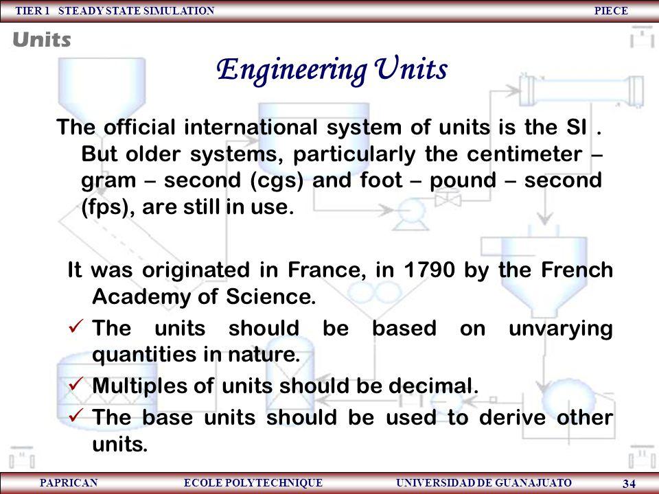 Engineering Units Units