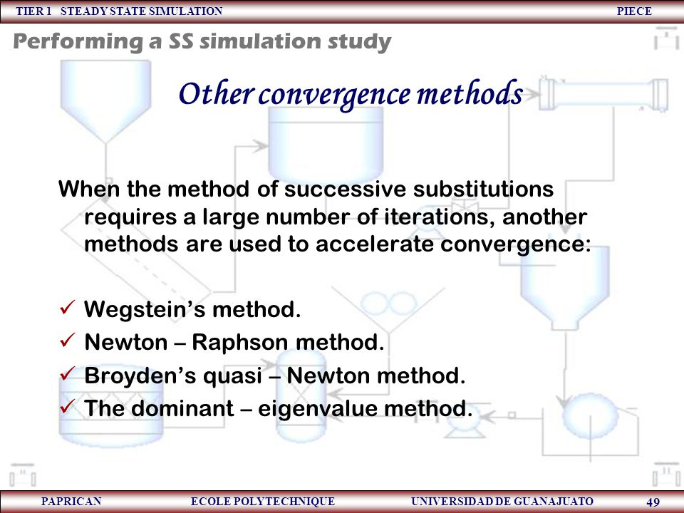 Other convergence methods