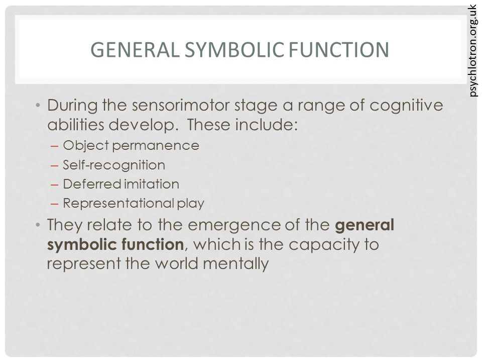 General Symbolic Function