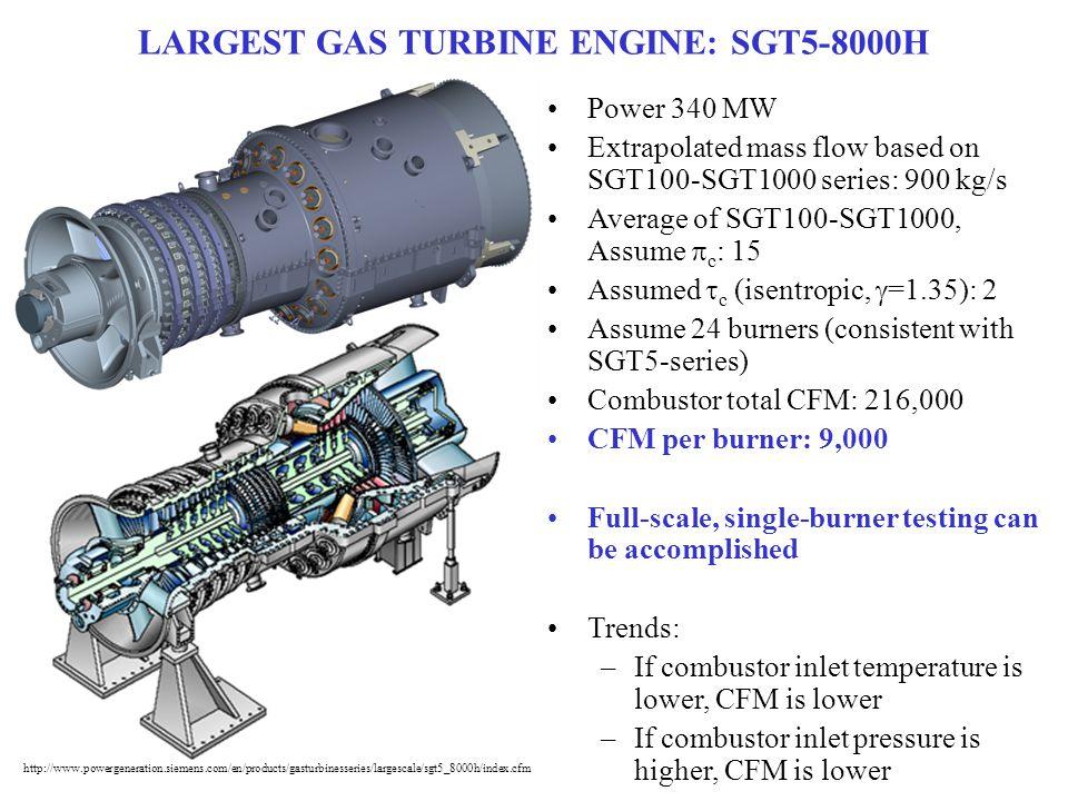 LARGEST GAS TURBINE ENGINE: SGT5-8000H