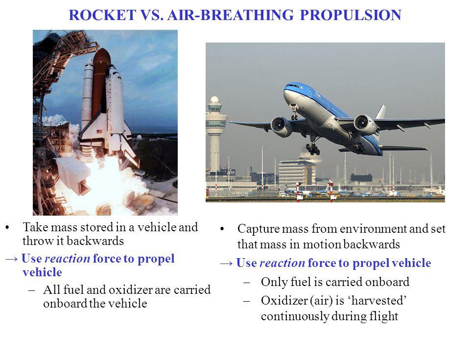 ROCKET VS. AIR-BREATHING PROPULSION