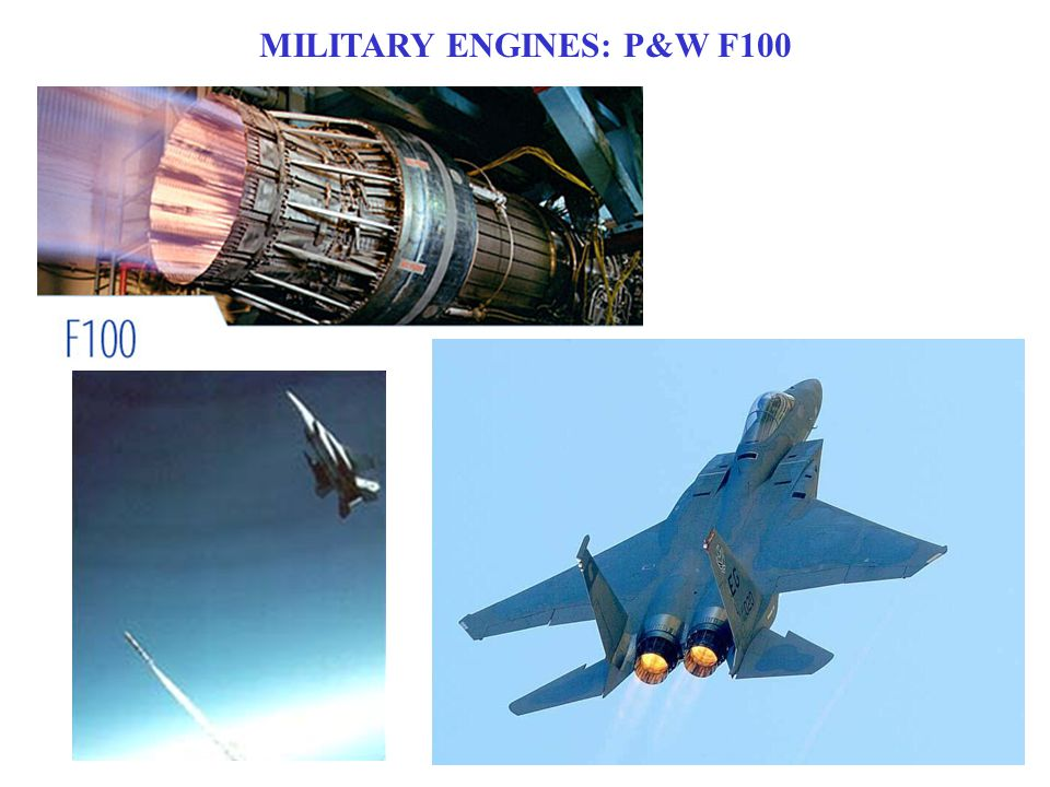 MILITARY ENGINES: P&W F100