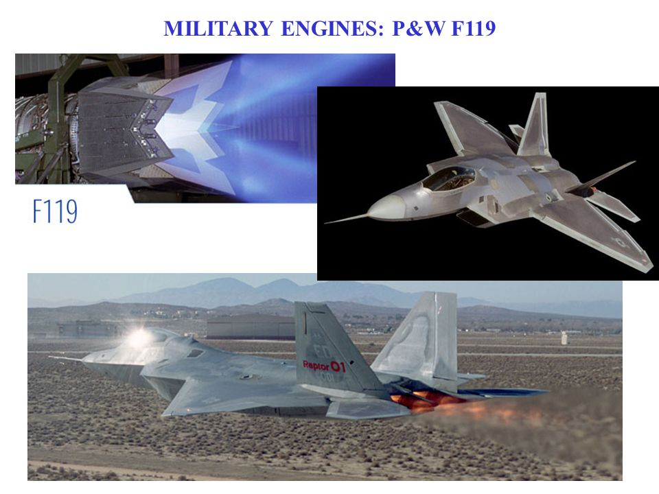 MILITARY ENGINES: P&W F119