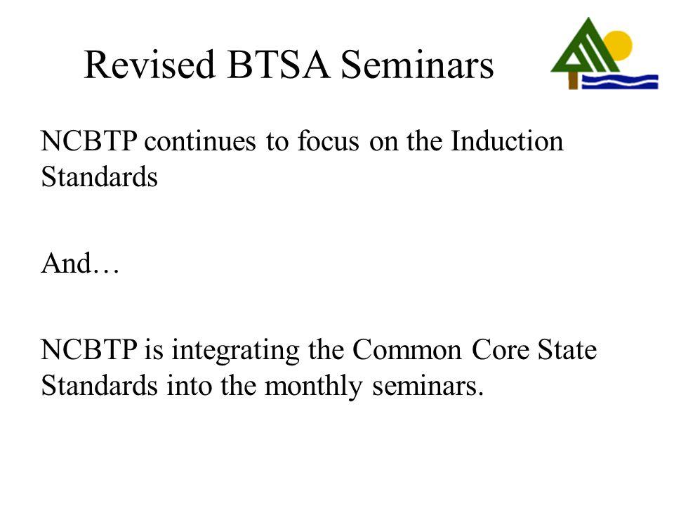 Revised BTSA Seminars